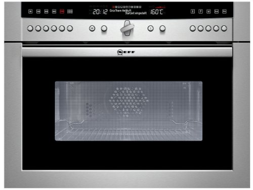 Neff Mega cm 6770 N Mikrowelle / 900 W / 42 L Garraum / Backofensystem mit 11 Betriebsarten / edelstahl