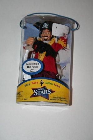 World Stars Captian Kidd the Pirate Figure