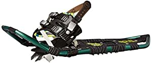 Atlas Snowshoes Company Elektra 12 Series Snowshoes, Emerald/Lime, 23-Inch