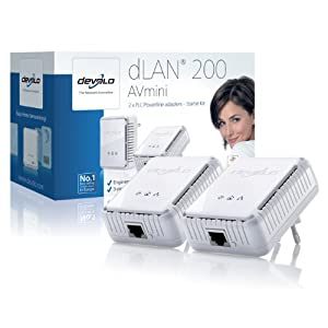 Devolo dLAN 200 AVmini Powerline Starter Kit