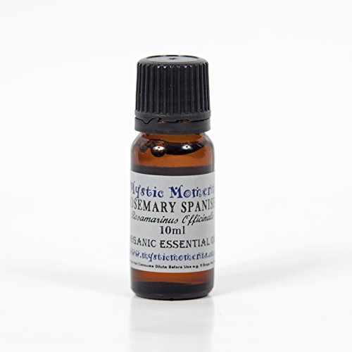 Mystic Moments Rosemary Spanish Organic Essential Oil 100% Pure 10Ml