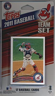 2011 Topps Limited Edition Cleveland Indians Baseball Card Team Set (17 Cards) - Not Available In Packs!!