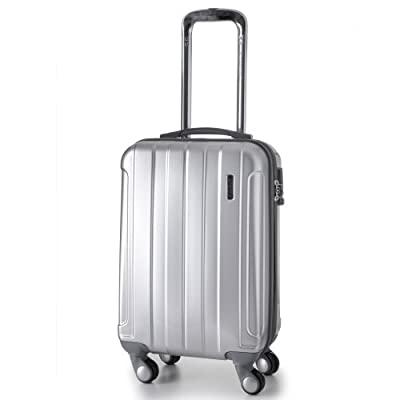Aerolite Lightweight Hard shell Travel Luggage Suitcase- 4 Wheel Spinner Trolley Bag (5 Years Guarantee)