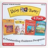 Living Books 4 CD Pack - Harry, Grandma, Tortoise & Little Monster
