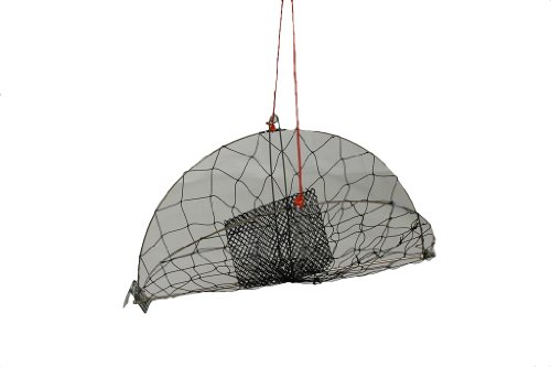 Kufa casting crab trap with 100 39 rope cr55 sporting for Fishing pole crab trap