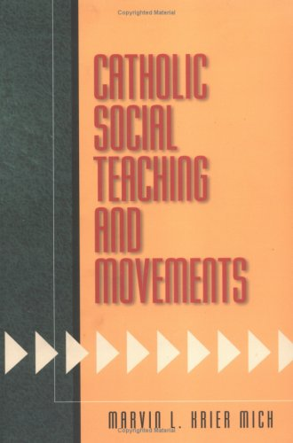 Catholic Social Teaching and Movements089672445X : image