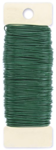 Paddle Wire 22 Gauge 4 Ounces/Pkg-Green (Floral Wire 22 Gauge compare prices)