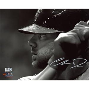 Chris Davis Baltimore Orioles Autographed 8