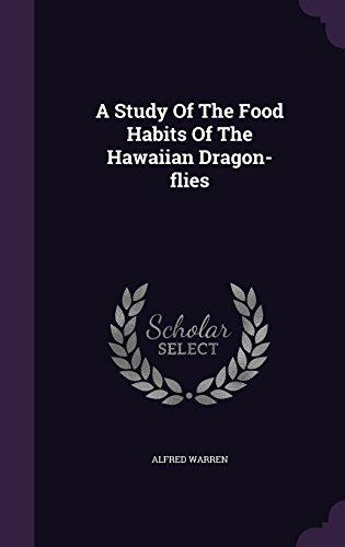 A Study Of The Food Habits Of The Hawaiian Dragon-flies
