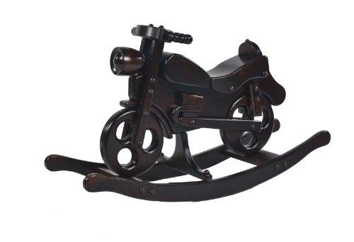 Schaukelmotorrad Schaukelpferd Holzspielzeug