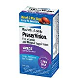 Bausch and Lomb PreserVision AREDS Formula Eye Vitamins - 150 Softgels ~ PreserVision Eye Vitamin