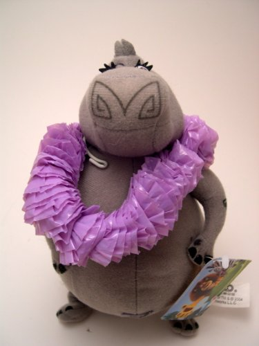 "9"" Madagascar Gloria the Hippo Plush - 1"