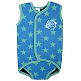 Splash About Baby Wrap Neoprene Wetsuit - Blue Stars, Large, 18-30 Months
