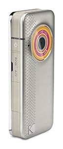Kodak Playfull Ze1 Caméscope de poche Port SD/SDHC 5 Mpix Zoom numérique 4x Argent