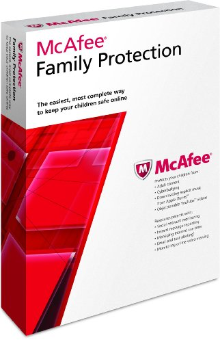 McAfee Family Protection 3 User 2012 [Old Version]