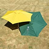 Molor PetBrella Tie-Out Stake with Umbrella in Yellow
