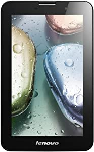 Lenovo IdeaTablet A3000-H 17,8 cm (7 Zoll mit IPS Technologie) Tablet-PC (QuadCore Prozessor 1,2GHz, 1GB RAM, 16GB eMMC, 5MP Kamera, UMTS, Android 4.1) schwarz