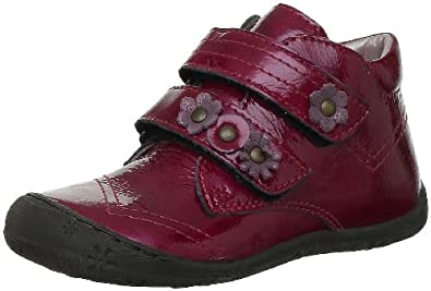 Aster Girls JULILAS* Baby Shoes Red Rot (TOMATE/BORDEAUX) Size: 8