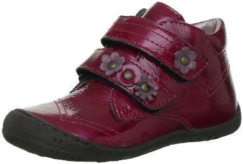 Aster JULILAS 239620-10 4, Scarpine prima infanzia bambina, Rosso (Rot (TOMATE/BORDEAUX)), 20