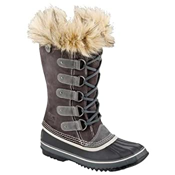 Gird your feet against the cold with the stylish Joan of Arctic boots from Sorel. Fully waterproof, the stylish suede upper and rubber shell use seam sealed construction to keep your feet dry and toasty in deep snow. A Herringbone outsole gives you p...