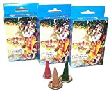 Spiritual Sky Ylang Ylang Incense Cones. Contains: 20 incense cones, 1 metal incense burner. A perfect gift - great for Birthdays, Christmas......