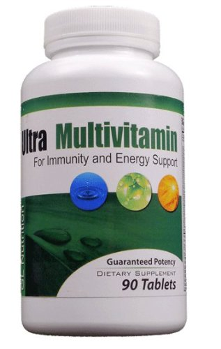 Ultra Multivitamin - Packed With 66 Vitamins, Supplements, Minerals, Digestive Aids And Many More Healthy Nutrients