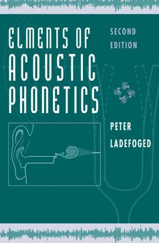 elements of acoustic phonetics pdf