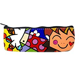Britto Romero Pop Art Pattern Custom Pencil Case