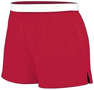 Soffe Juniors Athletic Short, Red, Medium
