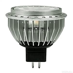 Cree MR16-50-30K-40D - 8.7 Watt - LED - MR16 - 50 Watt Equal - 1296 Candlepower - 3000 Kelvin - 90 Color Rendering - 40 Deg. Flood