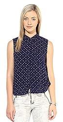 Only Women'S Casual Shirt (_5712835516216_Navy Blazer_40_)