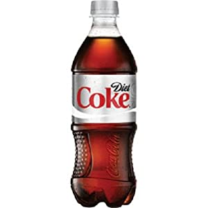 Diet Coca Cola, 20-Ounce Containers (Pack of 24)