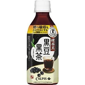 ▶︎[トクホ]カルピス 健茶王黒豆黒茶 350ml×24本の購入はこちら♩