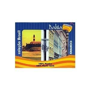 Copag Brazil Series Bahia Design 100% Plastic Playing Cards - 2 Decks