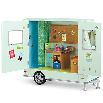 American Girl Lanie Camper and Gear