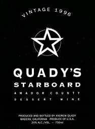 1996 Quady Starboard Vintage Red Port Blend Wine 750 mL