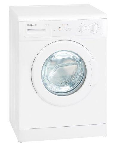 Exquisit WA1110 Waschmaschine Frontlader / A+ / 166 kWh/Jahr / 10370 L/Jahr / 1000 UpM / 5 kg / weiß