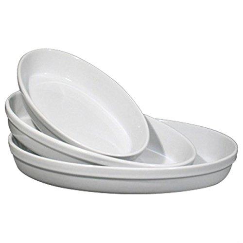 Pirofila in ceramica ovale da forno