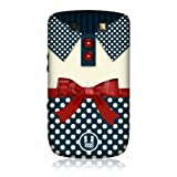 Head Case Plain White Nautical Clothing Back Case for BlackBerry Torch 9800 9810