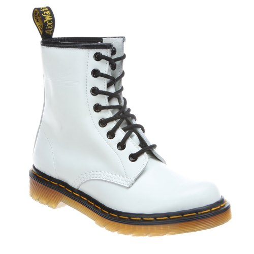 Dr. Martens Women's Vonda Lace Up Boot, White, 5 UK / 7 M US (Style And Company Booties compare prices)