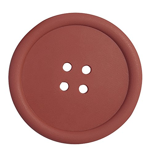 Ieasycan Plastic Cup Pads - Pure Colored circular Button Coaster - Insulation Mug mat holder Home Table Decor Coffee Drink Placemat (Drink Mix Holder compare prices)