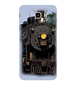 ifasho Train engine design Back Case Cover for Samsung Galaxy On8