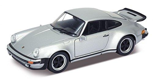 1974 Porsche 911 Turbo 3.0 Silver 1/24 by Welly 24043 (Porsche 911 Model compare prices)