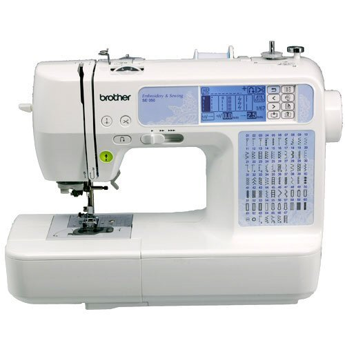 Sewing Machine Brother SE40 Computerized EmbroideryandSewing Machine Beauteous Brother Se350 Computerized EmbroideryAndSewing Machine