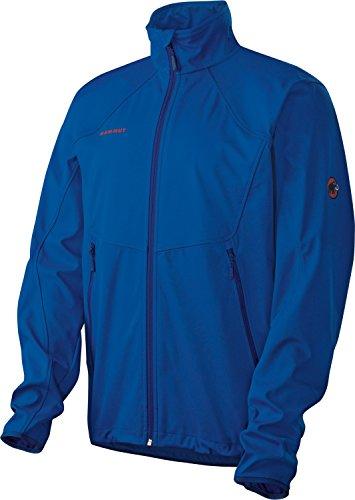 Mammut Jacke Softshelljacke Herren Übergangsjacke Tanana Jacket Blau Gr. XL