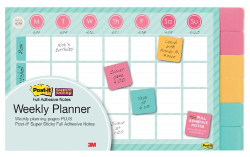 post-it-notes-weekly-planner-18-x-12-inches-26-weeks-with-6-pads-of-2-x-2-inches-full-adhesive-notes