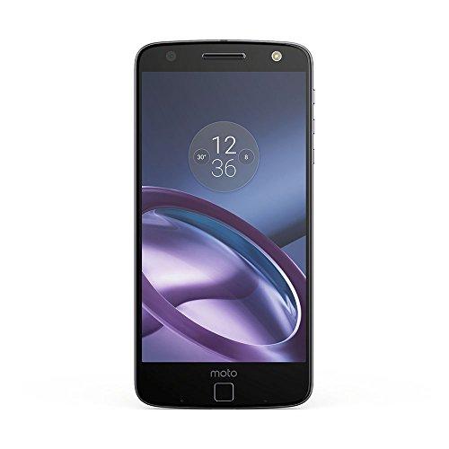 Lenovo Moto Z Smartphone (14 cm (5,5 Zoll), 32 GB, Android) Schwarz/Lunar Grau