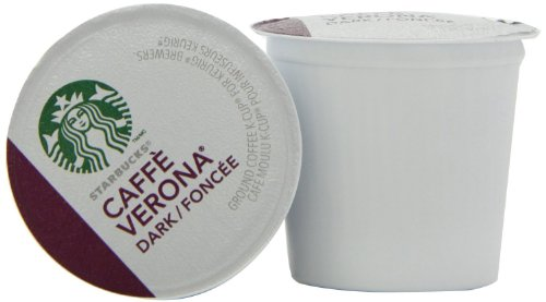 Starbucks Caffe Verona Coffee K Cups 96 Count