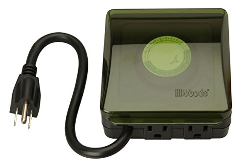 Coleman Cable 50012 2 Pack 24-Hour Outdoor Heavy Duty Mechanical Timer (Coleman Easy Spa compare prices)