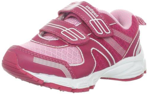 Pediped Flex Luna Sneaker (Toddler/Little Kid),Sangria Pink,30 Eu(12.5-13 E Us Little Kid)
